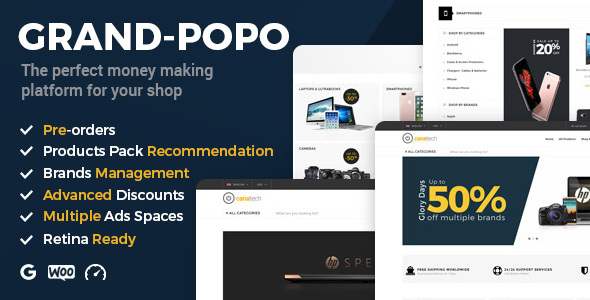 Grand Popo Preview Wordpress Theme - Rating, Reviews, Preview, Demo & Download