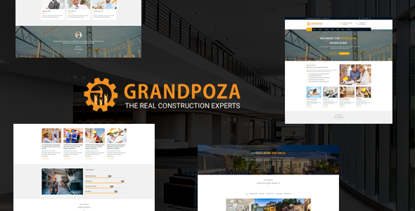Grandpoza Preview Wordpress Theme - Rating, Reviews, Preview, Demo & Download