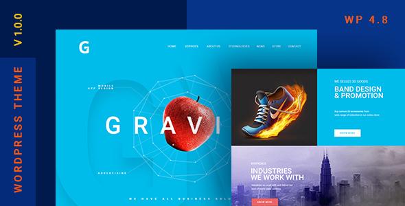 Gravitify Preview Wordpress Theme - Rating, Reviews, Preview, Demo & Download