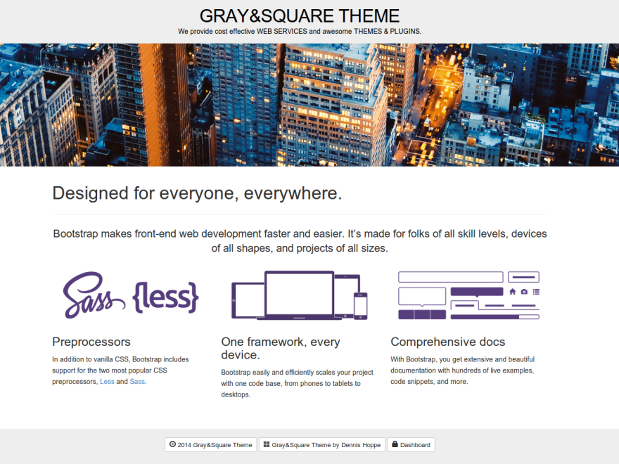 Gray And Preview Wordpress Theme - Rating, Reviews, Preview, Demo & Download