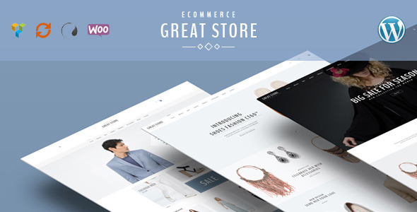 GREAT STORE Preview Wordpress Theme - Rating, Reviews, Preview, Demo & Download