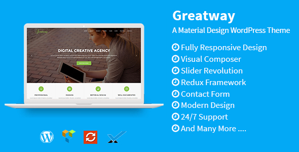 Greatway Preview Wordpress Theme - Rating, Reviews, Preview, Demo & Download