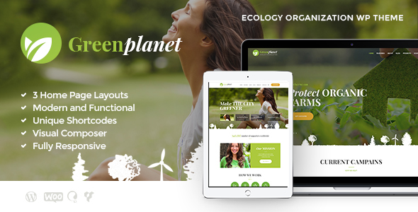 Green Planet Preview Wordpress Theme - Rating, Reviews, Preview, Demo & Download