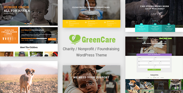 GreenCare Preview Wordpress Theme - Rating, Reviews, Preview, Demo & Download