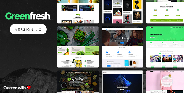 GreenFresh Preview Wordpress Theme - Rating, Reviews, Preview, Demo & Download