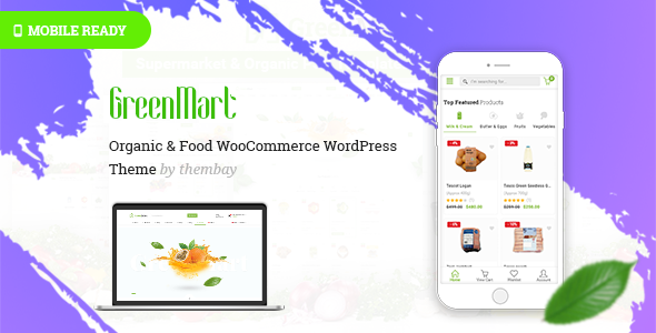 GreenMart Preview Wordpress Theme - Rating, Reviews, Preview, Demo & Download
