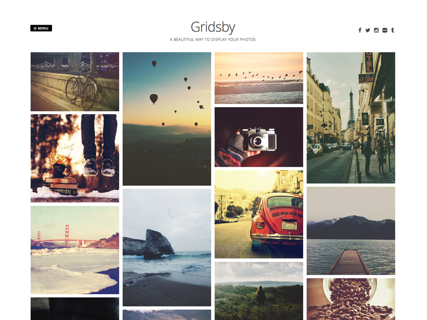 Gridsby Preview Wordpress Theme - Rating, Reviews, Preview, Demo & Download