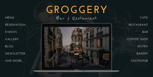 Groggery Preview Wordpress Theme - Rating, Reviews, Preview, Demo & Download