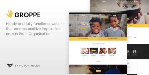 Groppe Preview Wordpress Theme - Rating, Reviews, Preview, Demo & Download