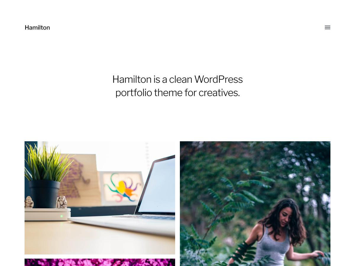 Hamilton Preview Wordpress Theme - Rating, Reviews, Preview, Demo & Download