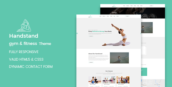 Handstand Preview Wordpress Theme - Rating, Reviews, Preview, Demo & Download