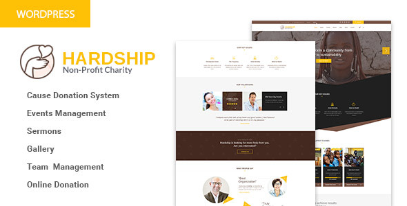 HardShip Preview Wordpress Theme - Rating, Reviews, Preview, Demo & Download