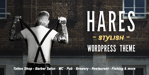 Hares Preview Wordpress Theme - Rating, Reviews, Preview, Demo & Download