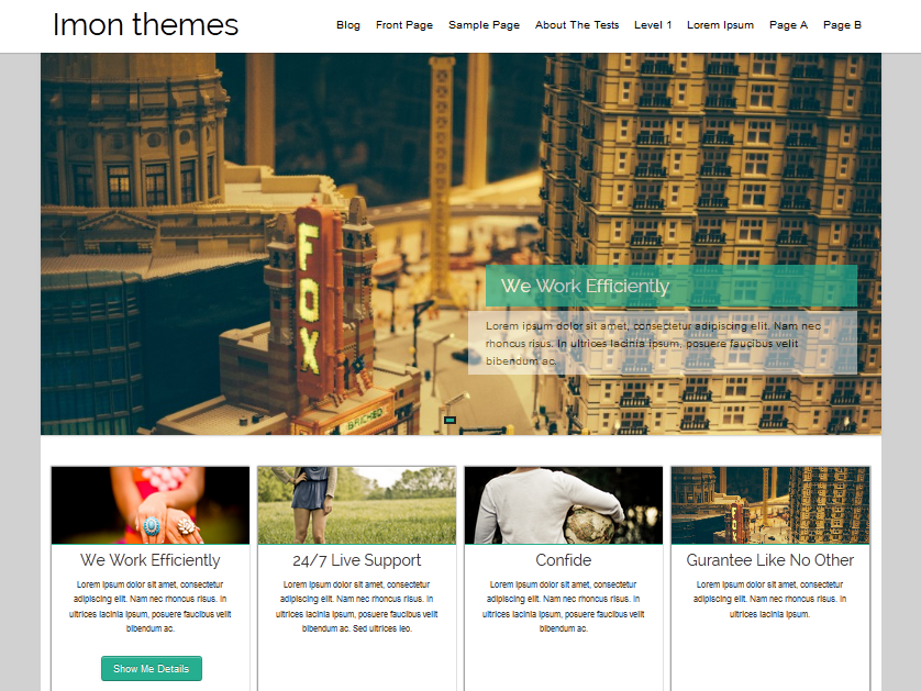 Hathor Preview Wordpress Theme - Rating, Reviews, Preview, Demo & Download