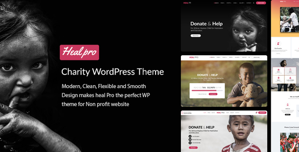 Heal Pro Preview Wordpress Theme - Rating, Reviews, Preview, Demo & Download