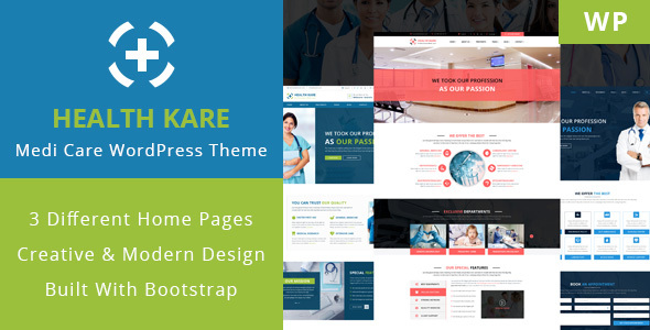 HEALTH KARE Preview Wordpress Theme - Rating, Reviews, Preview, Demo & Download
