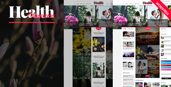 HealthMag Preview Wordpress Theme - Rating, Reviews, Preview, Demo & Download