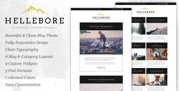 Hellebore Preview Wordpress Theme - Rating, Reviews, Preview, Demo & Download