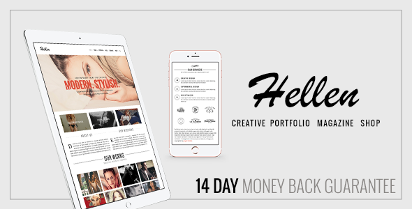 Hellen Preview Wordpress Theme - Rating, Reviews, Preview, Demo & Download