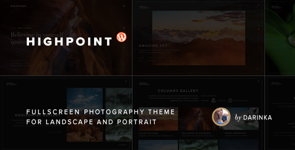 Highpoint Preview Wordpress Theme - Rating, Reviews, Preview, Demo & Download