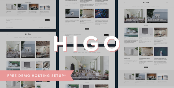Higo Preview Wordpress Theme - Rating, Reviews, Preview, Demo & Download