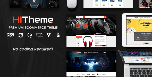 HiTheme Preview Wordpress Theme - Rating, Reviews, Preview, Demo & Download