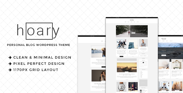 Hoary Preview Wordpress Theme - Rating, Reviews, Preview, Demo & Download