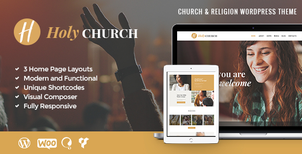 Holy Church Preview Wordpress Theme - Rating, Reviews, Preview, Demo & Download
