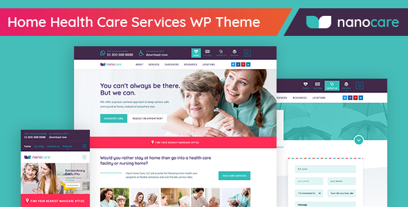Home Health Preview Wordpress Theme - Rating, Reviews, Preview, Demo & Download