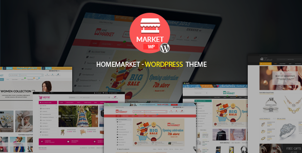 HomeMarket Preview Wordpress Theme - Rating, Reviews, Preview, Demo & Download