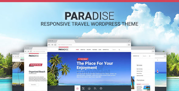 Hot Paradise Preview Wordpress Theme - Rating, Reviews, Preview, Demo & Download