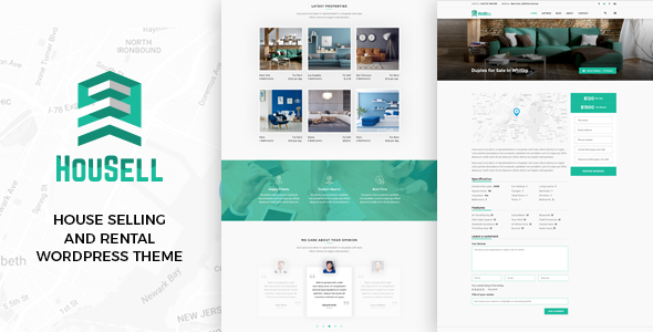 Housell Preview Wordpress Theme - Rating, Reviews, Preview, Demo & Download