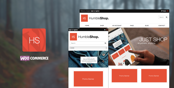 HumbleShop Preview Wordpress Theme - Rating, Reviews, Preview, Demo & Download