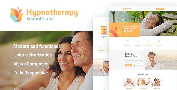 Hypnotherapy And Preview Wordpress Theme - Rating, Reviews, Preview, Demo & Download