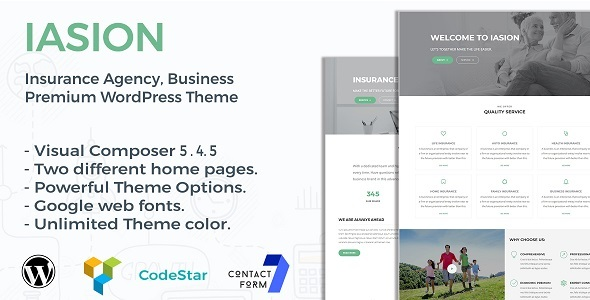 Iasion Preview Wordpress Theme - Rating, Reviews, Preview, Demo & Download