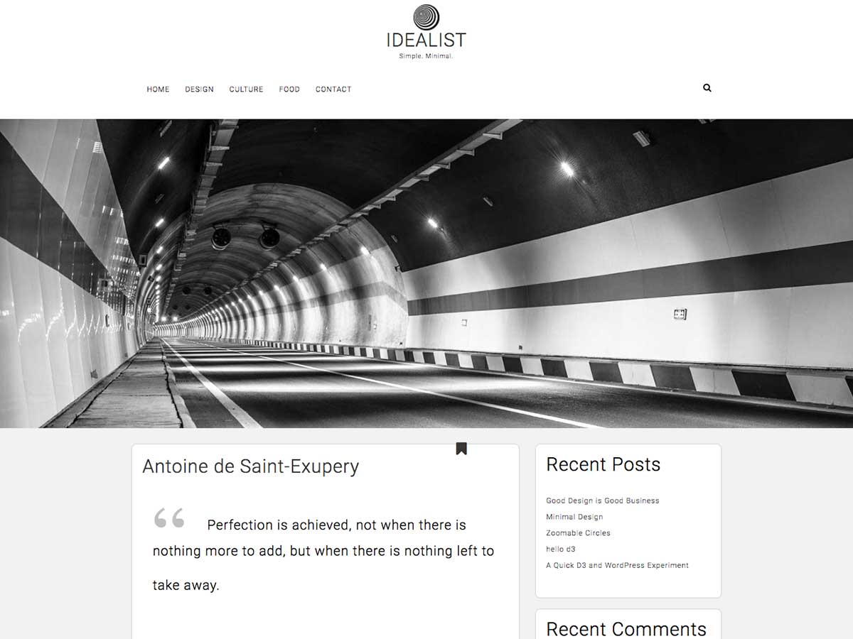 Idealist Preview Wordpress Theme - Rating, Reviews, Preview, Demo & Download