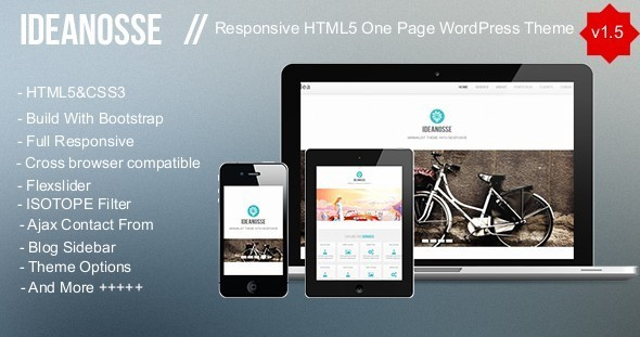 Ideanosse Preview Wordpress Theme - Rating, Reviews, Preview, Demo & Download