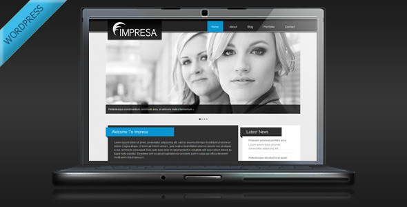 Impresa Preview Wordpress Theme - Rating, Reviews, Preview, Demo & Download