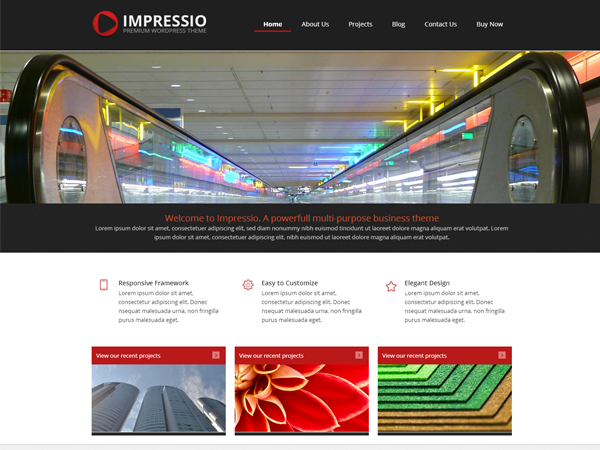 Impressio Preview Wordpress Theme - Rating, Reviews, Preview, Demo & Download