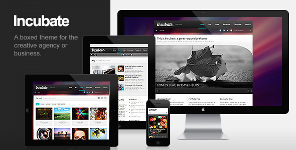 Incubate Preview Wordpress Theme - Rating, Reviews, Preview, Demo & Download