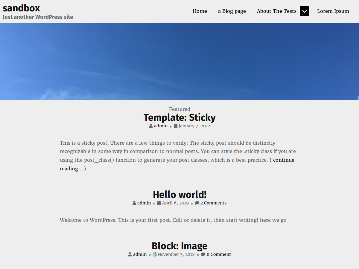 Individuality Preview Wordpress Theme - Rating, Reviews, Preview, Demo & Download