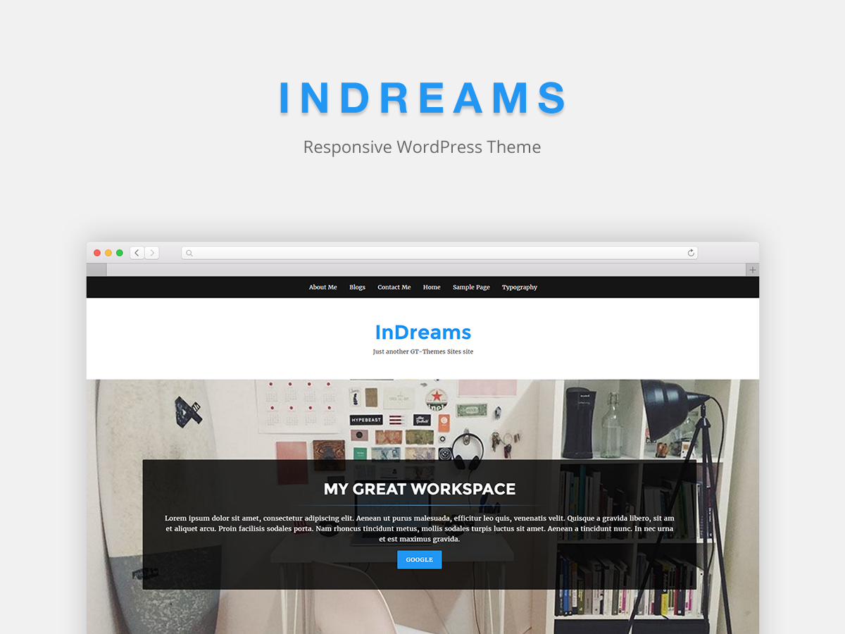 InDreams Preview Wordpress Theme - Rating, Reviews, Preview, Demo & Download