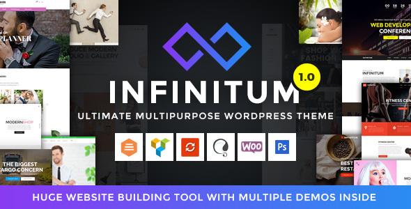 Infinitum Preview Wordpress Theme - Rating, Reviews, Preview, Demo & Download