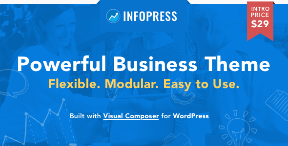 Infopress Multi Preview Wordpress Theme - Rating, Reviews, Preview, Demo & Download