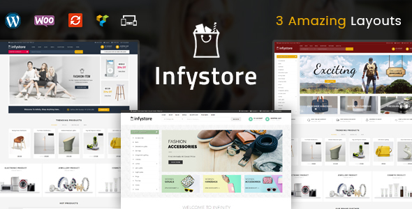 Infystore Preview Wordpress Theme - Rating, Reviews, Preview, Demo & Download