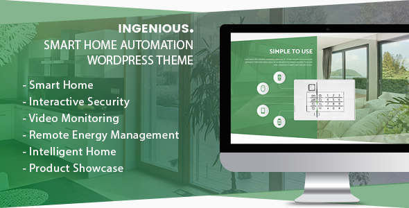 Ingenious Preview Wordpress Theme - Rating, Reviews, Preview, Demo & Download