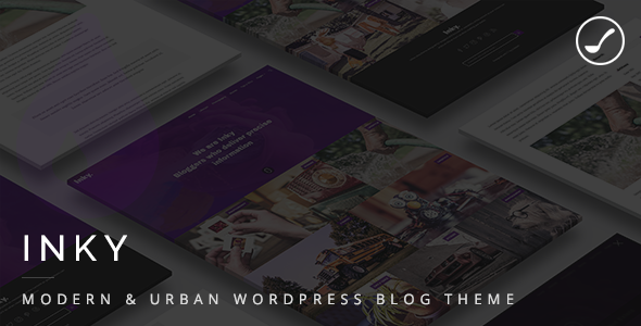Inky Preview Wordpress Theme - Rating, Reviews, Preview, Demo & Download