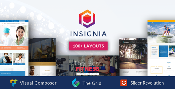 Insignia Preview Wordpress Theme - Rating, Reviews, Preview, Demo & Download