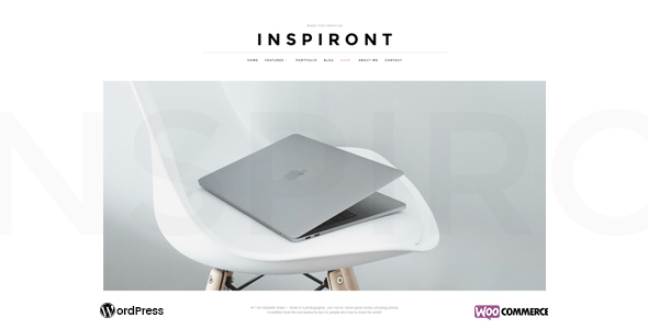 Inspiront Preview Wordpress Theme - Rating, Reviews, Preview, Demo & Download