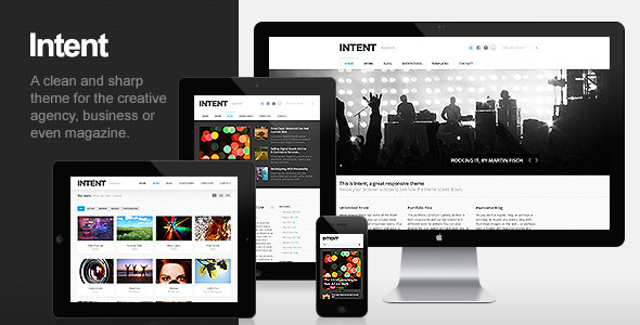 Intent Preview Wordpress Theme - Rating, Reviews, Preview, Demo & Download